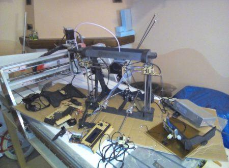 (DISTRUTTA) STAMPANTE 3D KENTSTRAPPER GALILEO SMART
