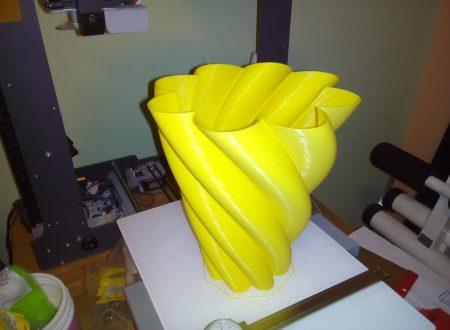 VASO STAMPATO IN 3D  SCARICA G-code